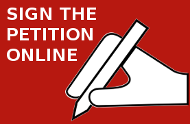 SIGN THE PETITION ONLINE