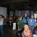 Over a hundred community activists, political leaders, artists and the public of many Latin American countries and Canada, joined together at the solidarity night